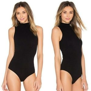 Commando Mock Neck Turtleneck Sleeveless Bodysuit